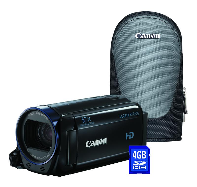 Camescope Canon Hf R606 + Housse + Carte Sd 4go
