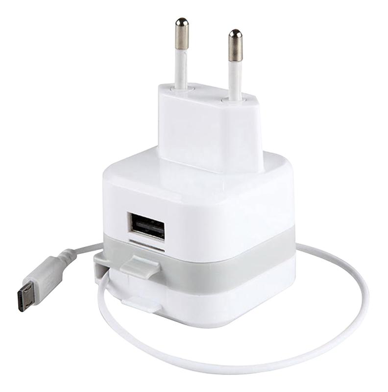 Chargeur Secteur IBROZ 2,4A+micro USB ret.2,1A