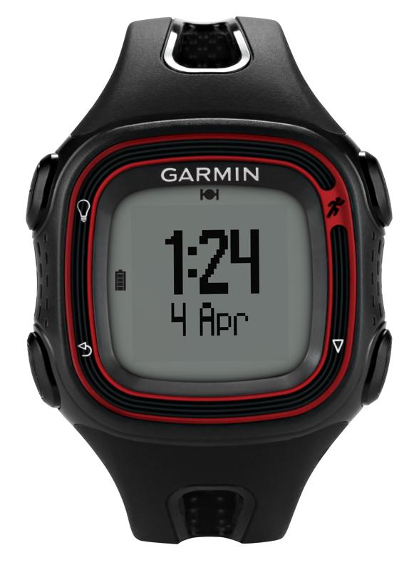 Montre Gps Garmin Forerunner 10 Black & Red