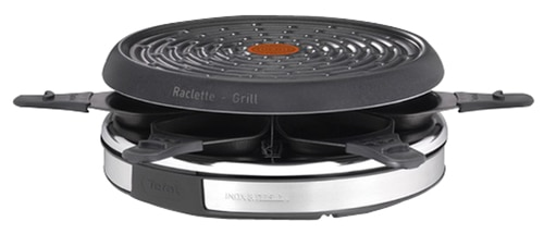 Raclette TEFAL RE127812 2 en 1 INOX (photo)