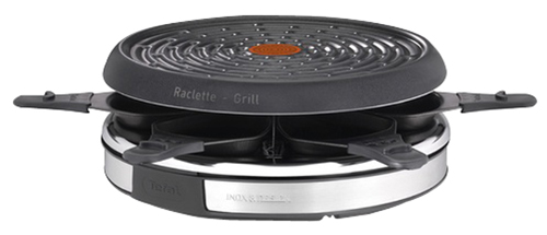 Raclette Tefal Re127812 2 En 1 Inox