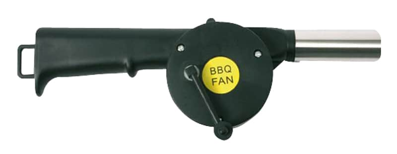 Ventilateur à manivelle pour barbecue (photo)