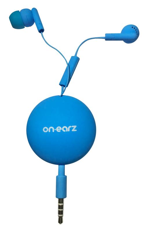 Ecouteurs On.earz Mrbz01 Bleu