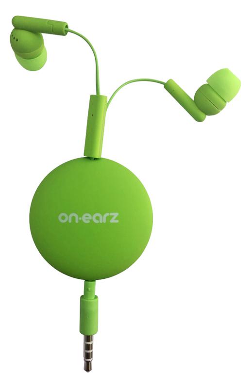 Ecouteurs ON.EARZ MRBZ01 vert