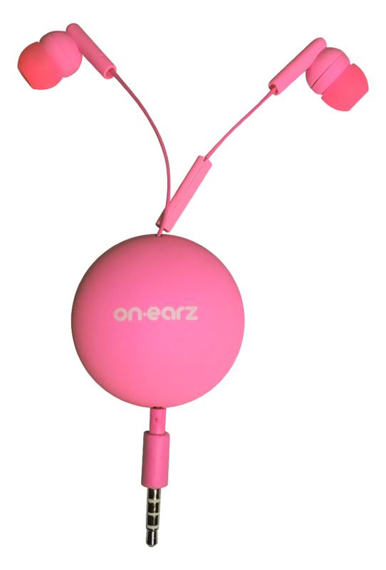 Ecouteurs On.earz Mrbz01 Rose