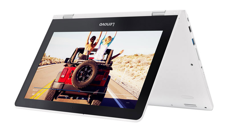 Ordinateur Portable 11,6'' Lenovo Yoga 300-11ibr Blanc