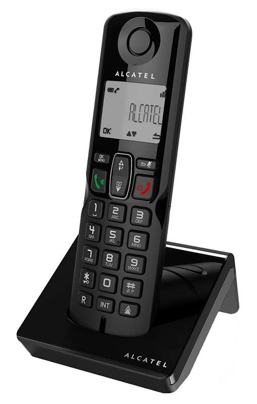Telephone solo ALCATEL S250 noir mains libres