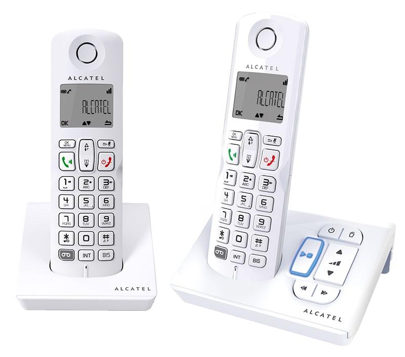 Telephone repondeur ALCATEL S250 Duo Blanc mains libres