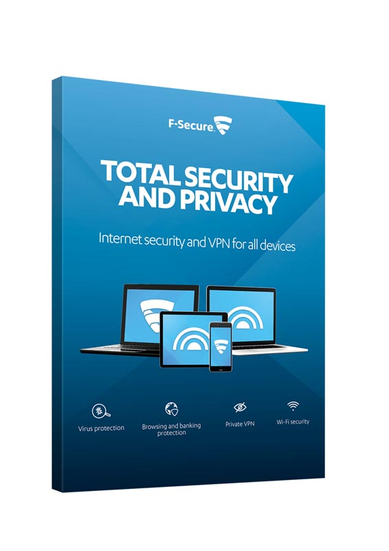 Logiciel F-SECURE Antivirus + VPN 1 an