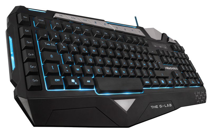 Clavier filaire gaming THE G-LAB KEYZ300