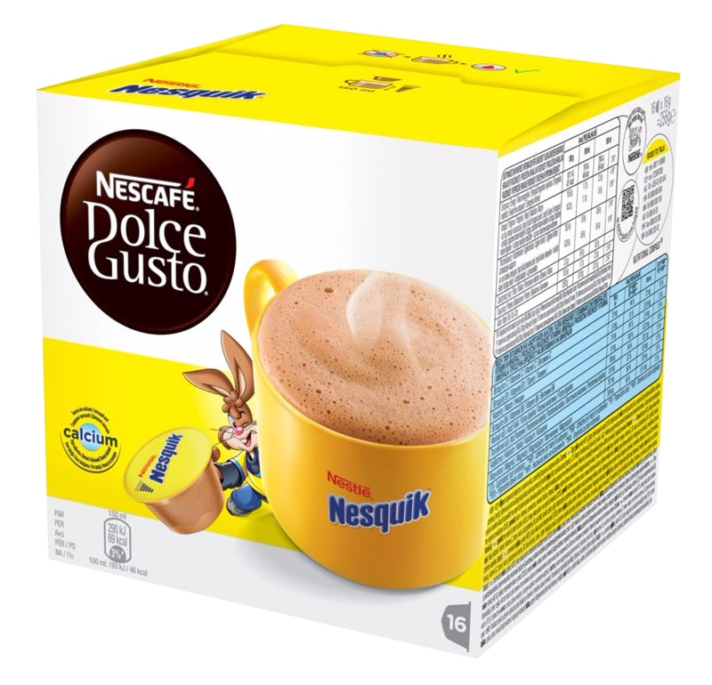 Dosettes DOLCE GUSTO NESQUIK