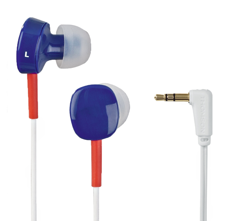 Ecouteur THOMSON EAR3056 Bleu/Rouge