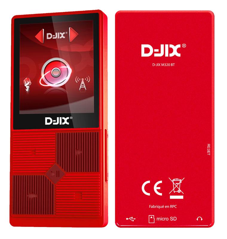 Baladeur Vidéo D-jix D-jix M320 8go Bt