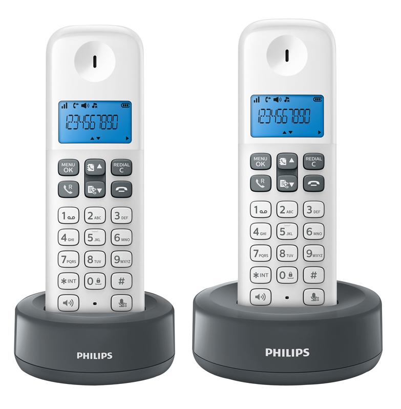 Téléphone Philips D1312 - Duo Wg Mains Libres