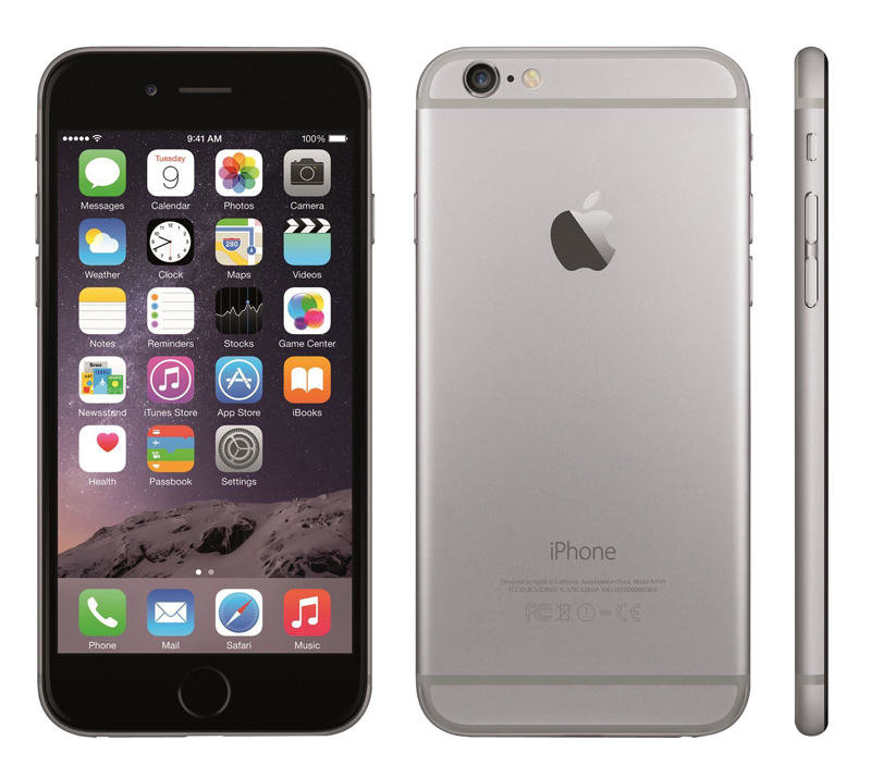 Apple Iphone 6 64go gris sideral reconditionne grade a+