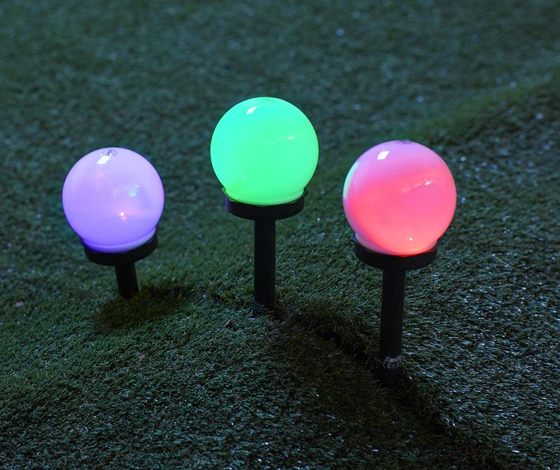 Lampe Xanlite Lot De 3 Balises Solaires