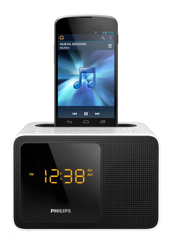 Radio-réveil Philips Ajt5300w