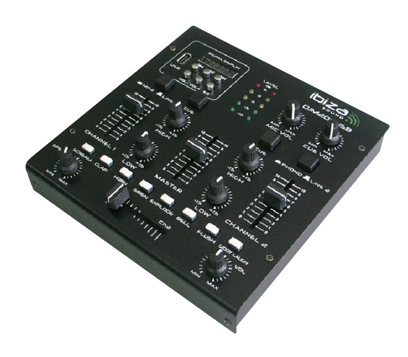 Table Mixage IBIZA DJM200USB