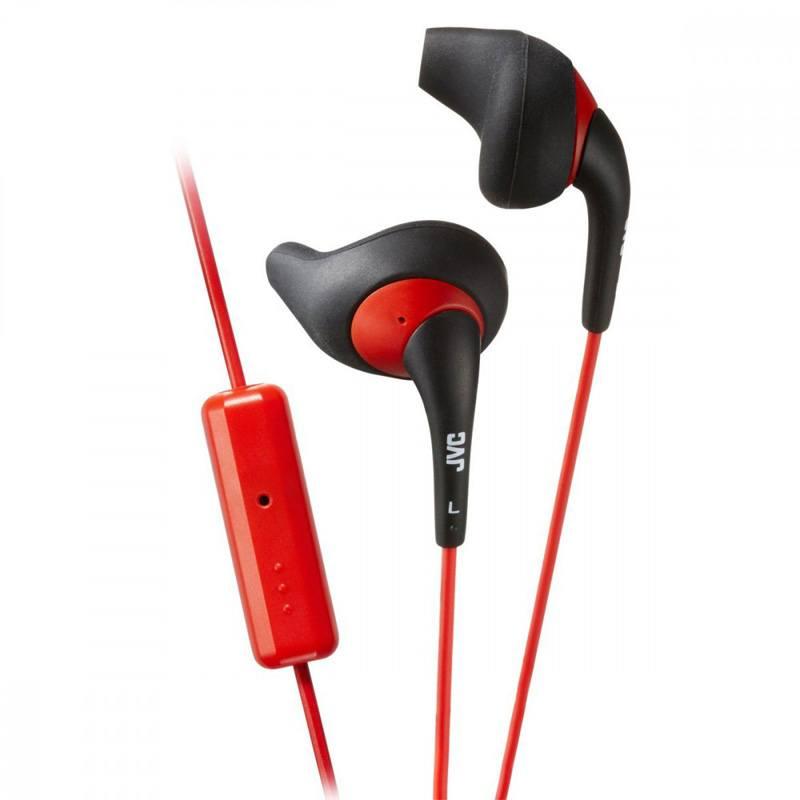 Ecouteurs JVC HA-ENR15-E Noir/Rouge