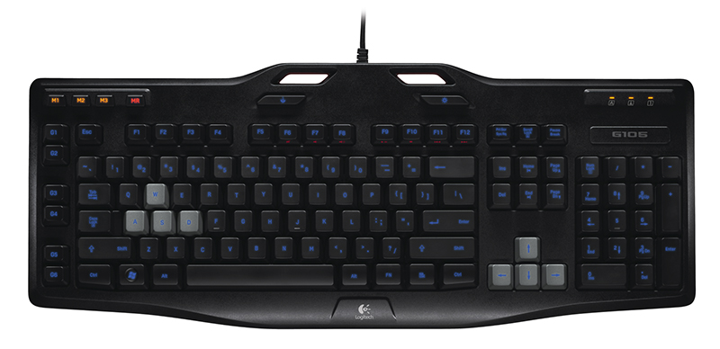 Clavier gaming LOGITECH G105 Refresh LED noir