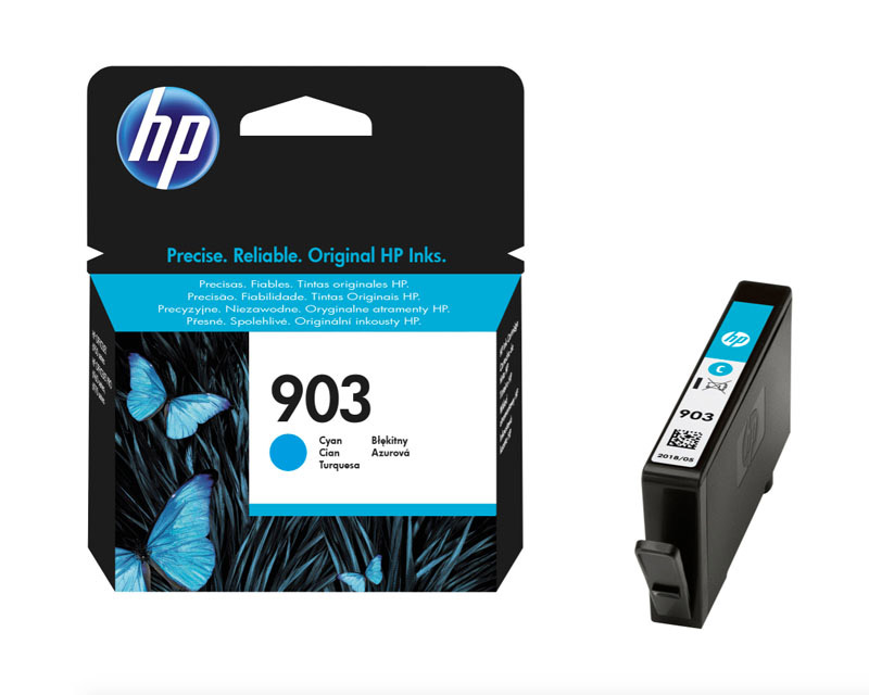 HP 903 Cartouche Cyan authentique (T6L87AE) (photo)