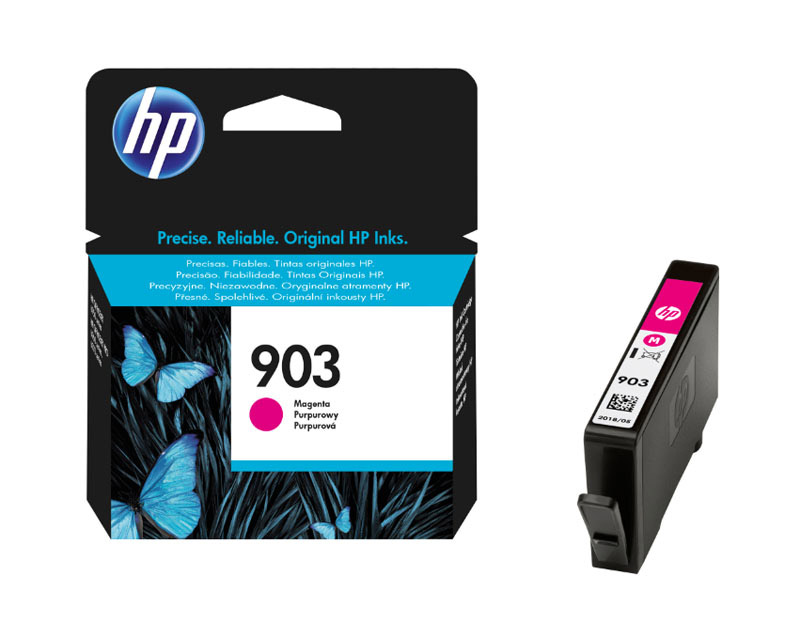 HP 903 Cartouche Magenta authentique (T6L91AE) (photo)