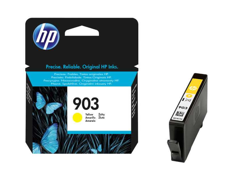 HP 903 Cartouche Jaune authentique (T6L95AE) (photo)
