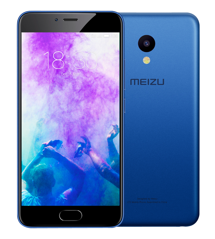 Mobile Meizu M5 16go 4g Bleu