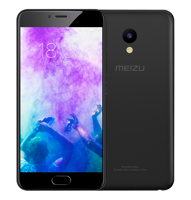 Smartphone MEIZU M5 32Go 4G noir (photo)