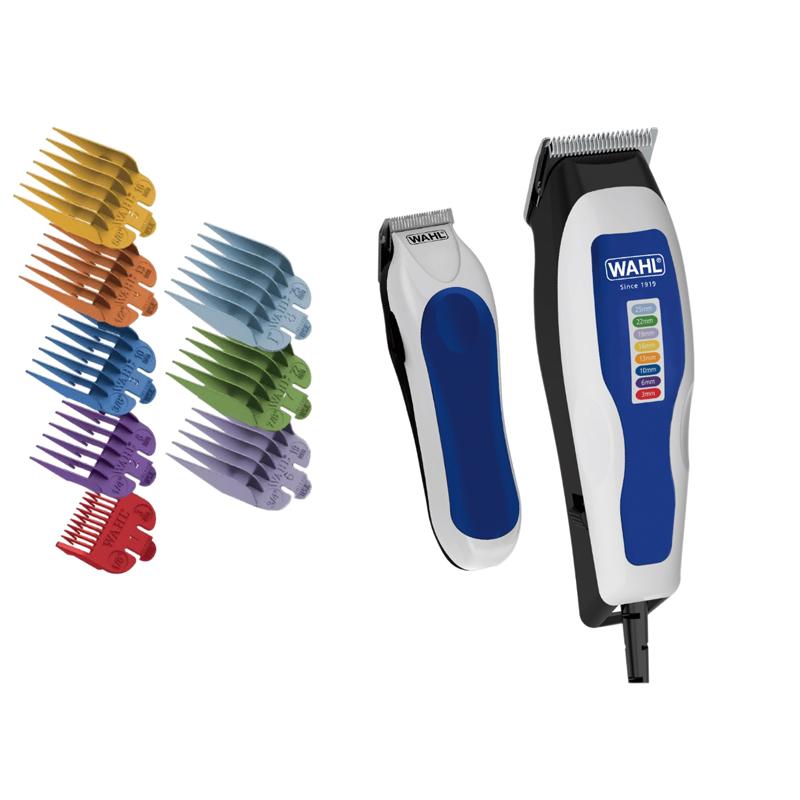 Tondeuse cheveux WAHL COLOR PRO COMBO + Mini tondeuse