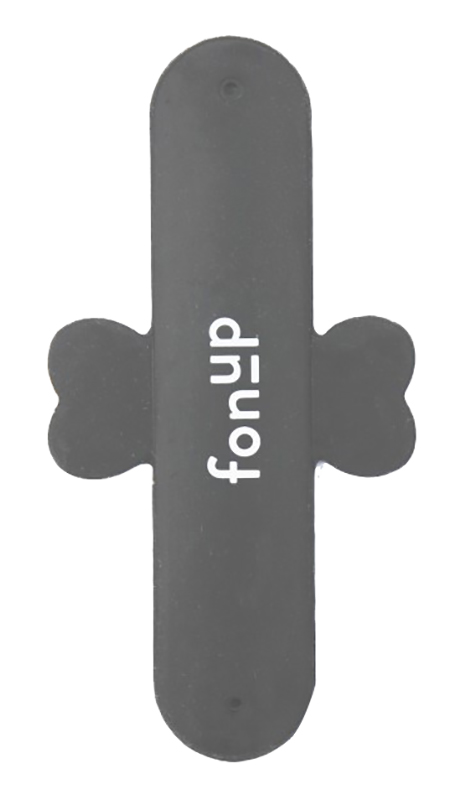 Support Adhésif Universel Pour Mobile Fonup Stand Gris