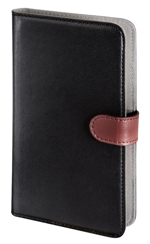 Foliocase Hama Univ Xl 5,2-5,8'' Noir Et Rouge (photo)