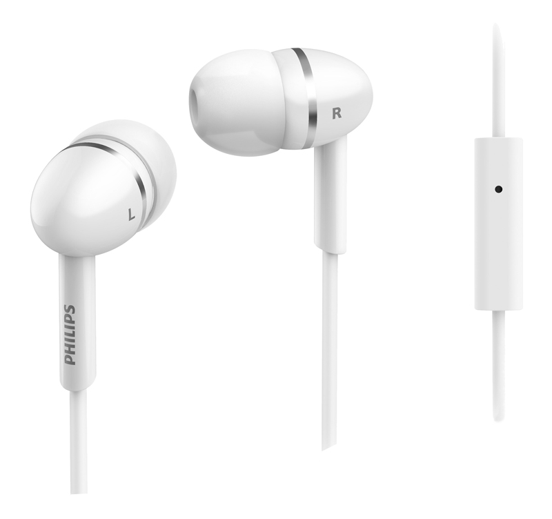 Ecouteurs Philips She1455wt/10 Blancs