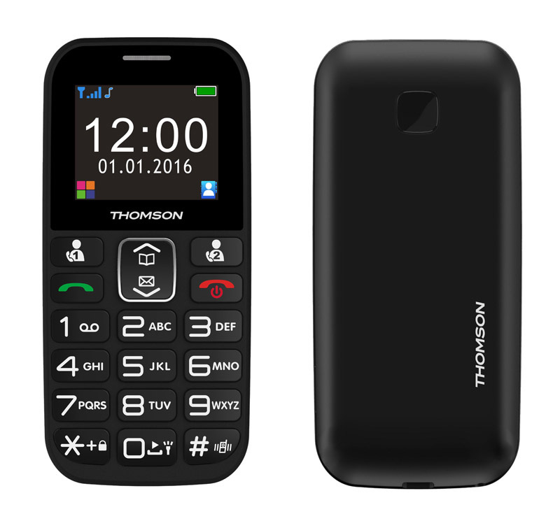 Mobile THOMSON Serea49 noir (photo)