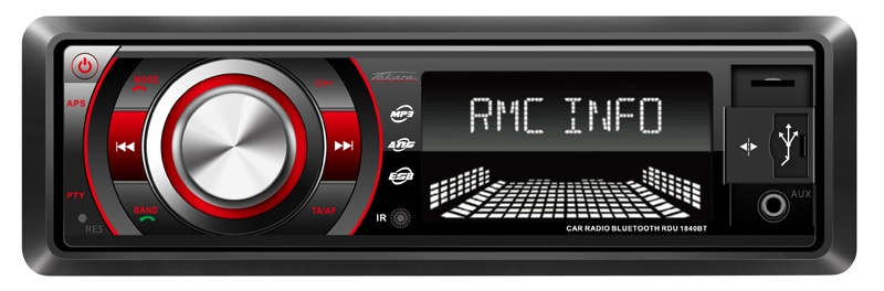 Autoradio TAKARA RDU1840BT Bluetooth (photo)