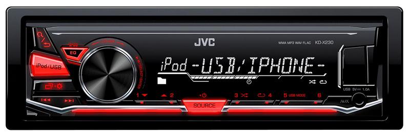 Autoradio Jvc Kd X230