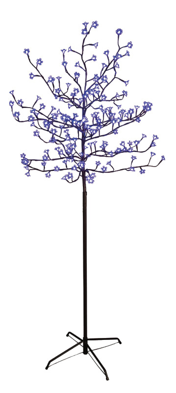 Arbre BE HAPPY 150 cm Lumineux bleu 180 Led