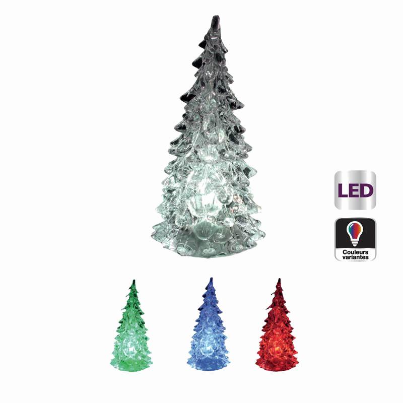 Veilleuse FEERIC LIGHT Sapin Multicouleur