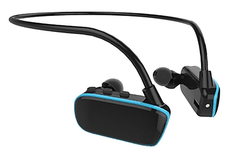 Baladeur MP3 oreillettes waterproof RYVAL 4GO