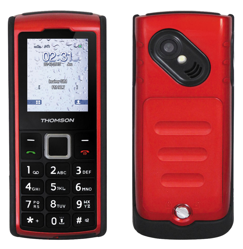 Mobile Thomson Tlink20s Ip66 Rouge