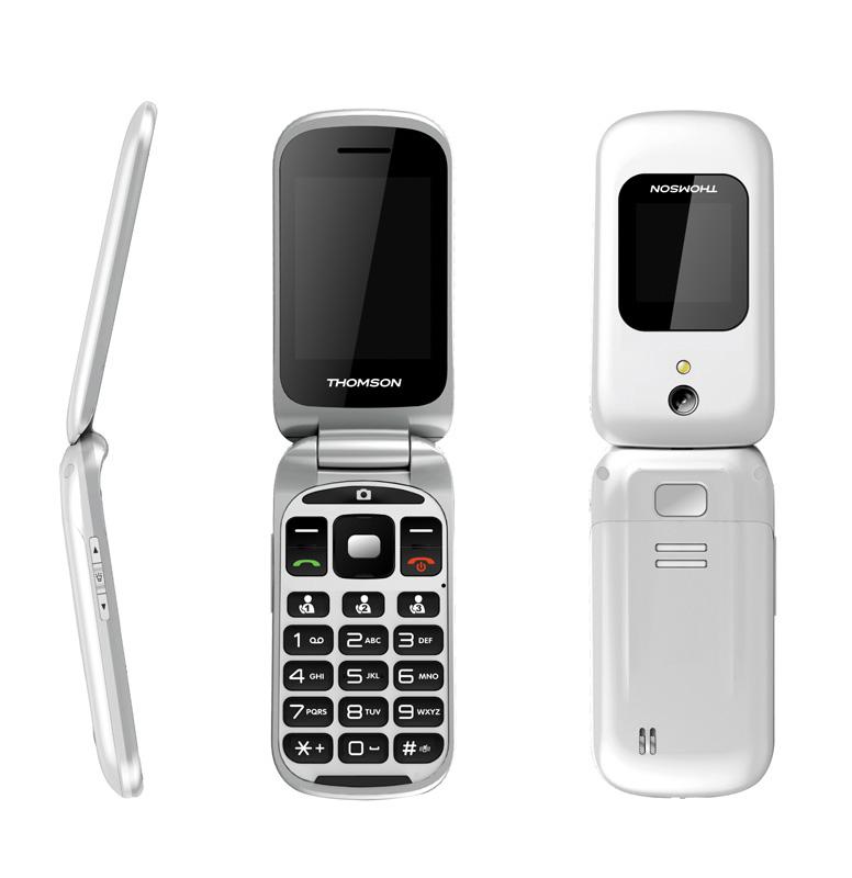 Mobile à clapet THOMSON Serea 66 blanc (photo)