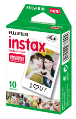 Papier FUJI FILM Instax film 10 poses (photo)