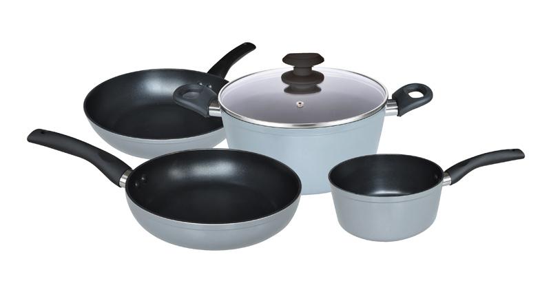 Set 5 pièces cuisson COSYLIFE aluminium