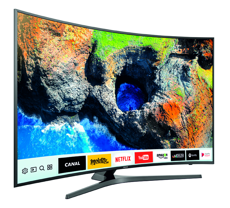 TV UHD 4K CURVED SAMSUNG UE65MU6655