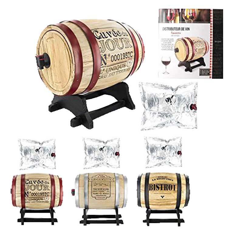 Distributeur de vin tonneau 5L (photo)
