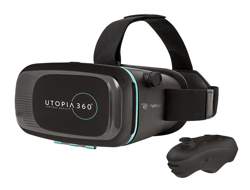 Casque De Réalité Virtuelle Retrak Euvrc+ Manette Bluetooth Noir
