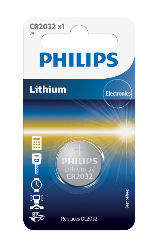 Pile PHILIPS CR2032