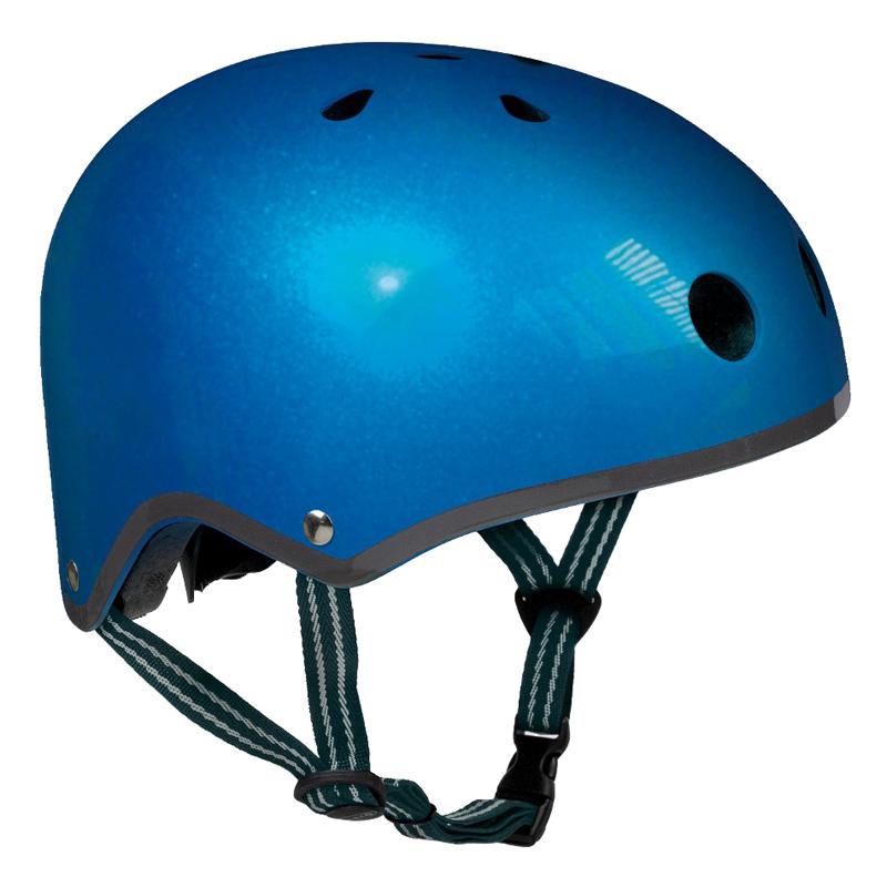 Casque De Protection Bleu Métal Taille M
