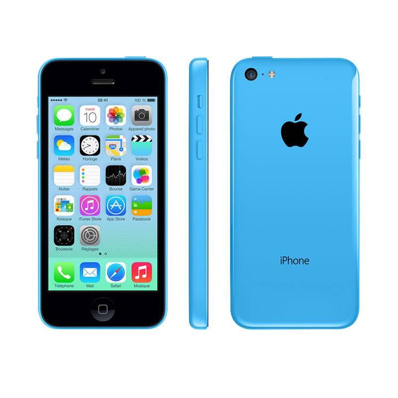 APPLE iPhone 5C 8 Go blue reconditionne grade A+