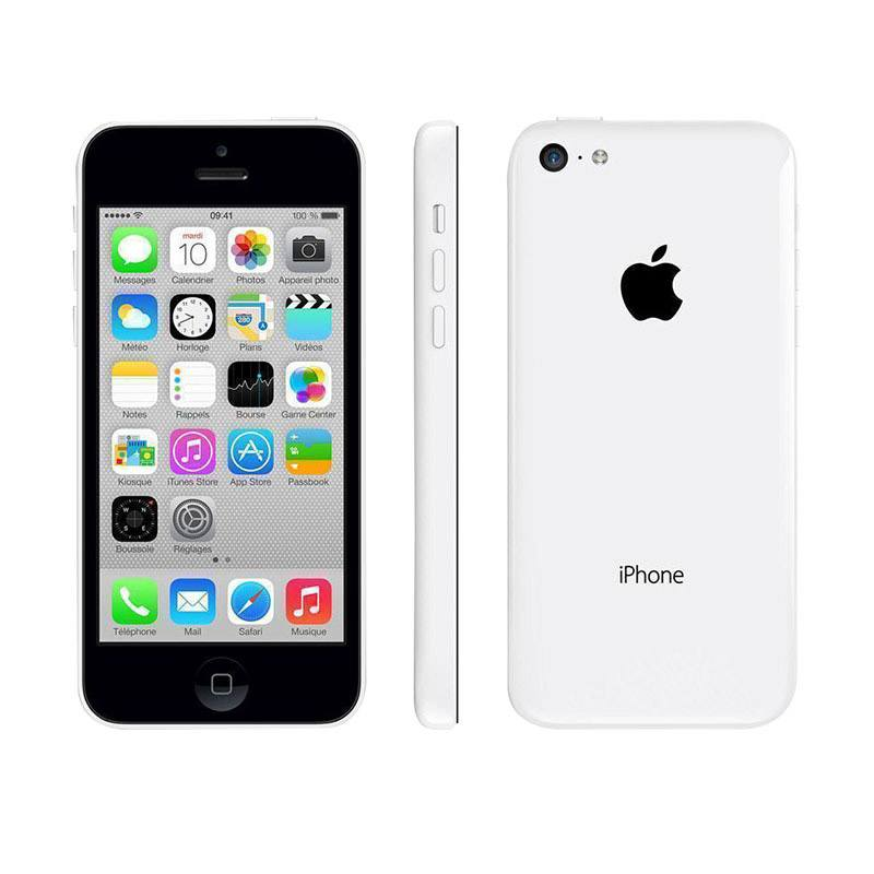 APPLE iPhone 5C 8 Go white reconditionne grade A+